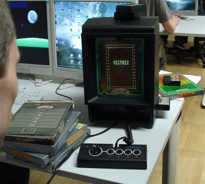 Vectrex Bootup