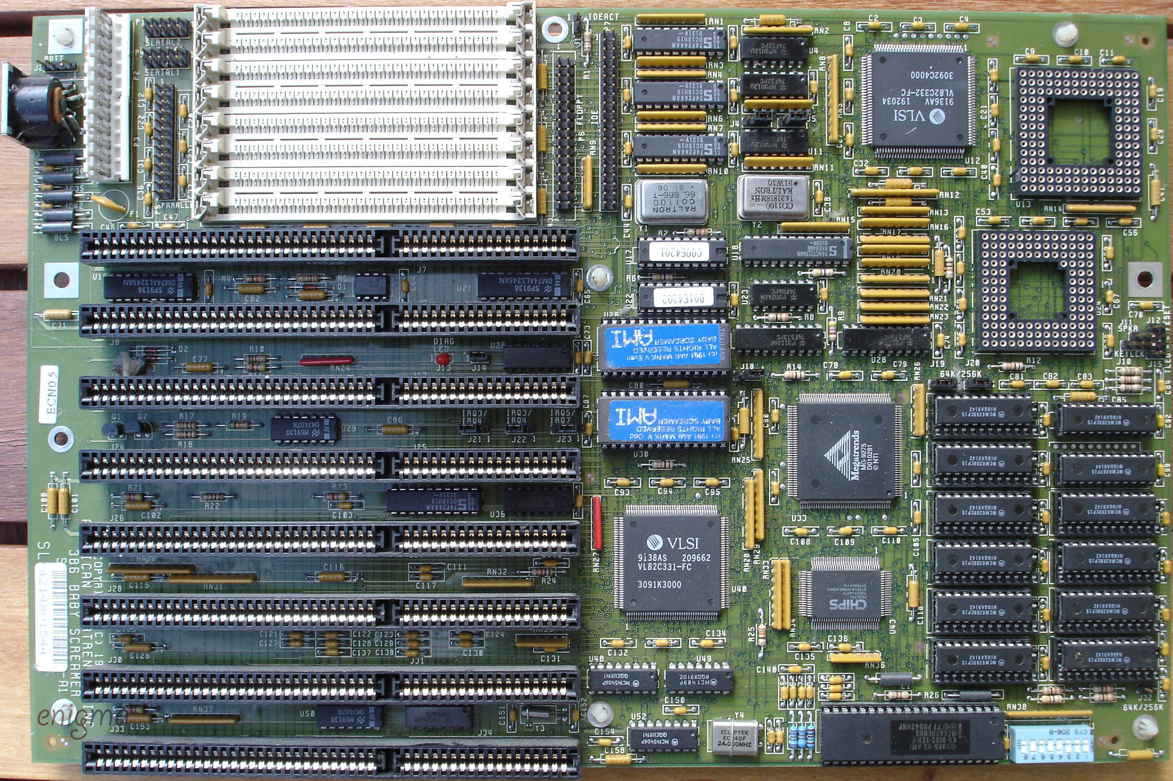 "Looking for American Megatrends ""Baby Screamer Mark V"" 386 mainboard"