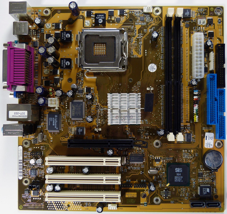 Intel i845g lan