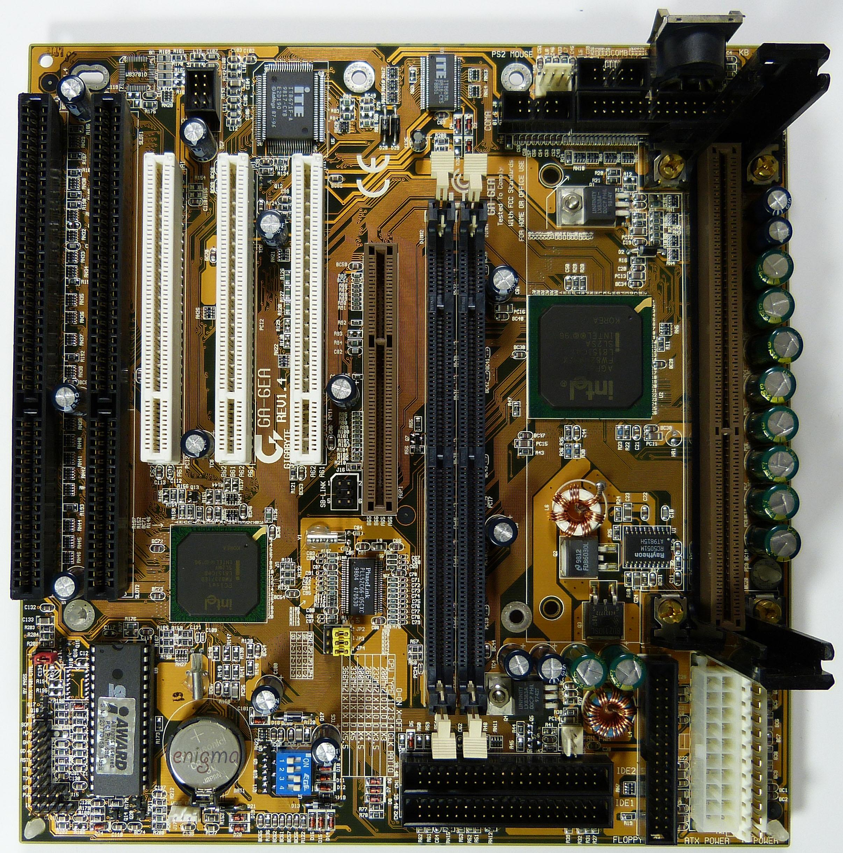 Slot-1 mainboard Gigabyte GA-6EA Rev. 1.4