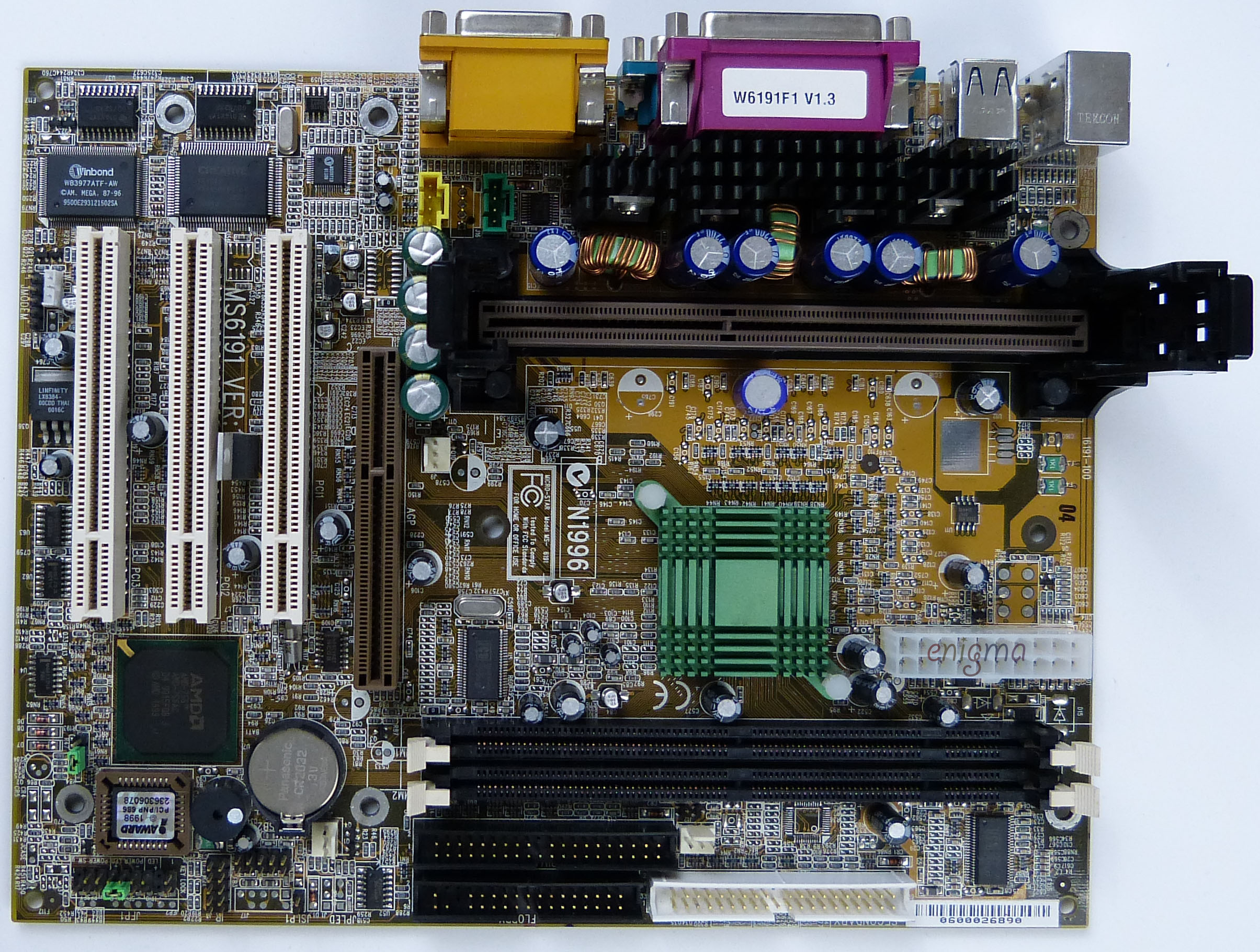 Phils Ultimate Vga Benchmark Database Projectods Mainboard Lx 310 Msi Ms6191